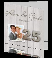 voordracht 25 jaar getrouwd Uitnodiging 25 jaar getrouwd voordracht 25 jaar getrouwd