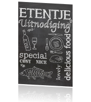 Uitnodiging etentje - Lovely delicious food