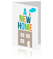 Uitnodiging housewarming - A New Home
