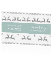 Gave save the date met Scandinavisch design