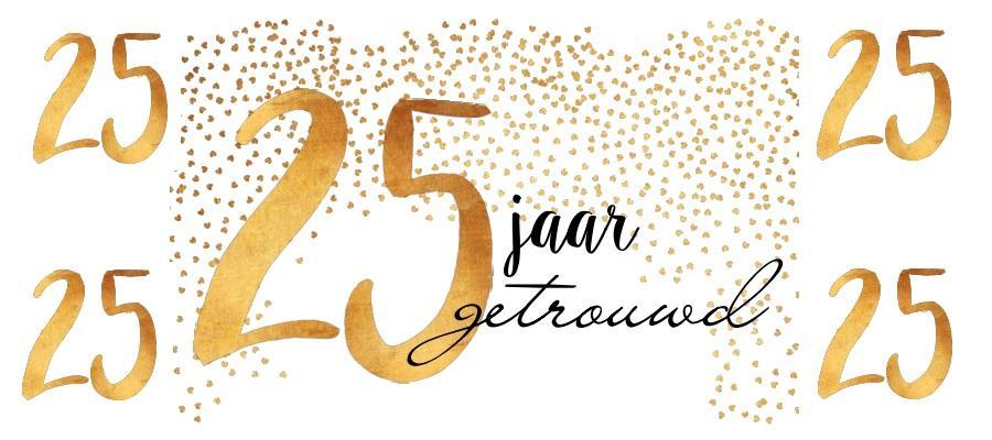 25 jarig feest 25 jaar getrouwd: 5x leuke manieren om je feest te vieren 25 jarig feest