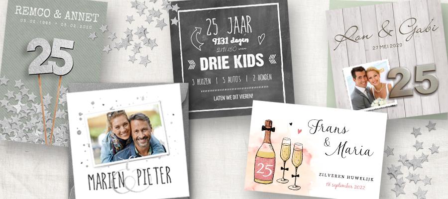 New 25 jaar getrouwd: 5 Sprankelende ideeën voor jullie zilveren bruiloft &DP83