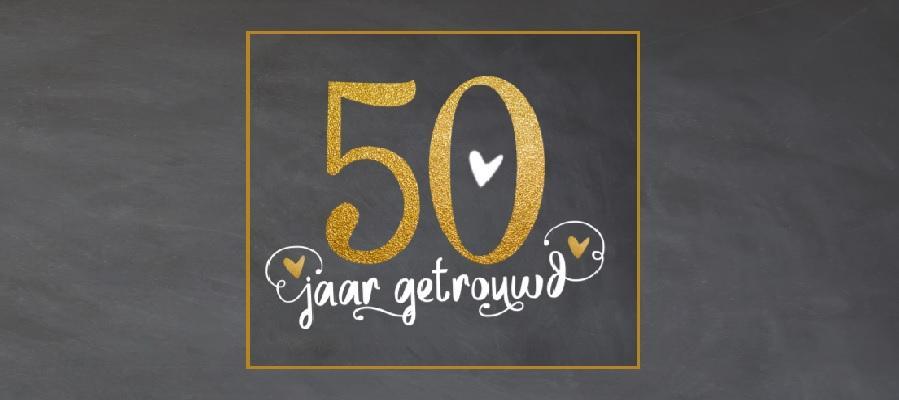 logo 50 jaar getrouwd 50 jaar getrouwd: vijf manieren om dit te vieren logo 50 jaar getrouwd