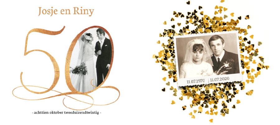 Extreem 50 jaar getrouwd: Een feest met een gouden randje @ER12