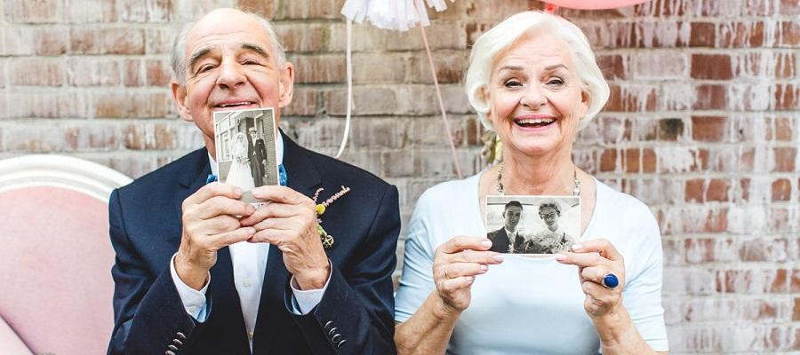 Loveshoot - We've got proof: 55 years of marriage and still in love
