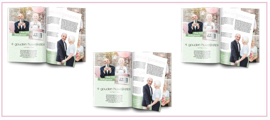 leuke cadeaus 50 jaar getrouwd Origineel cadeau voor 50 jaar getrouwd: Maak een tijdschrift! leuke cadeaus 50 jaar getrouwd