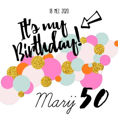 Bekend Uitnodiging verjaardag: maak je verjaardagsuitnodiging | Fuif #RQ49