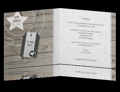 uitnodiging teksten 25 jaar getrouwd Tekst 25 Jarig Huwelijk Uitnodiging   ARCHIDEV uitnodiging teksten 25 jaar getrouwd