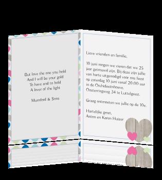 tekst voor 25 jarig jubileum Tekst Kaart 25 Jarig Huwelijk   ARCHIDEV tekst voor 25 jarig jubileum