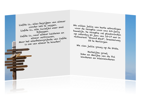 tekst 40 jaar uitnodiging Voorbeeld Uitnodiging Verjaardag 40 Jaar   ARCHIDEV tekst 40 jaar uitnodiging