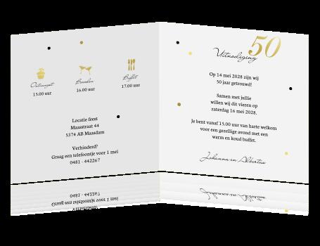 50 jaar getrouwd tekst kaart Teksten 5O Jaar Getrouwd   ARCHIDEV 50 jaar getrouwd tekst kaart