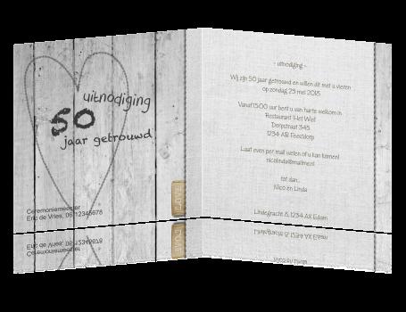 uitnodiging maken 50 jarig huwelijk Kaart 50 Jaar Getrouwd Uitnodiging   ARCHIDEV uitnodiging maken 50 jarig huwelijk