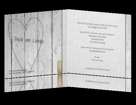 voorbeeld uitnodiging 50 jarig huwelijksfeest Tekst Felicitatiekaart 50 Jaar Getrouwd   ARCHIDEV voorbeeld uitnodiging 50 jarig huwelijksfeest