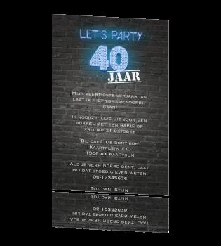Ideeen Verjaardagsfeest 40 Jaar