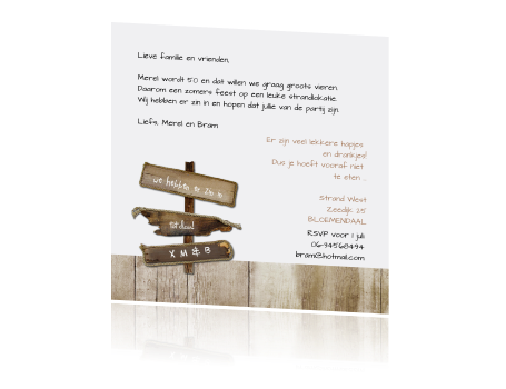 Tekst Voor Uitnodiging 50 Jaar Getrouwd