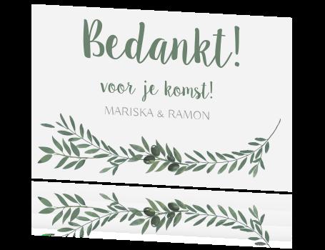 New Bekend Bedankt Kaartje Zelf Maken ZT09 | Belbin.Info #RI09