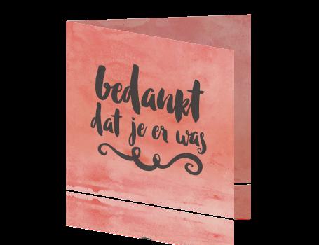 Genoeg Bedankkaartjes maken - Bruiloft en Jubileum - Fuif.nl &SB66
