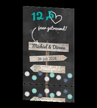 wat geef je bij 12 5 jaar getrouwd 12,5 jaar getrouwd uitnodigingen wat geef je bij 12 5 jaar getrouwd
