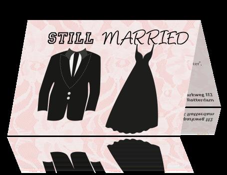 5 jaar getrouwd feest Jubileum Kaart   12,5 jaar getrouwd 5 jaar getrouwd feest