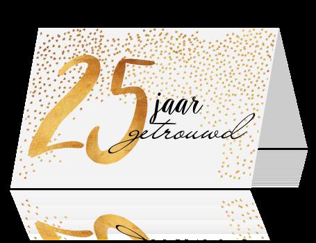 Bekend Uitnodiging 25 jaar getrouwd @JZ79