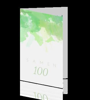 ... Samen 100 jaar uitnodigingen > Frisgroene waterverf samen 100: https://fuif.nl/uitnodiging-verjaardag/samen-100-jaar/waterverf...
