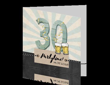 Uitnodiging 30 Jaar Maken